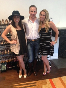 Jesse with Lauren and Taz, the brilliant co-founders of Palter DeLiso